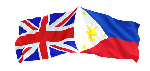 Filipino Nurses Association UK FNAUK UK PH flags